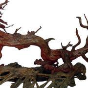 龙形根雕装饰图案