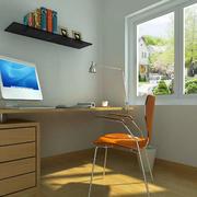 公寓小型简约风格书房装修