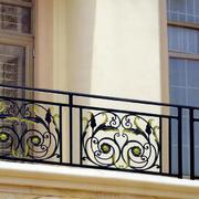 欧式风格小区阳台栅栏效果图
