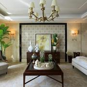 法式家装风格别墅客厅装修