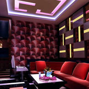 ktv包厢3D背景墙设计