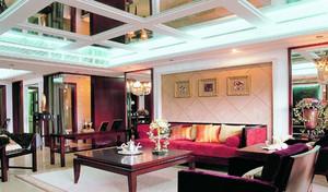 后现代风格别墅客厅设计