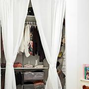 一室一厅简约帷幔装饰