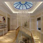 欧式奢华别墅楼梯设计
