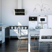 后现代风格黑白色客厅搭配