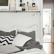后现代风格公寓床头背景墙设计