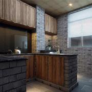 简约风格中式厨房设计