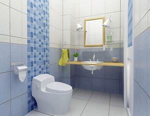 现代简约风格卫生间瓷砖设计