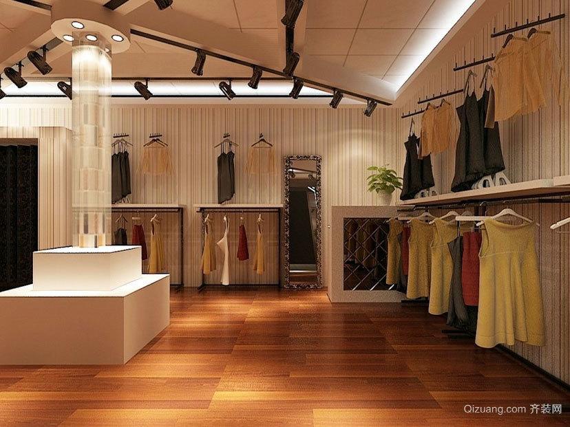 会让人花钱买东西的精品时尚服装店装修效果图