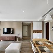 120平米房屋客厅地板装饰