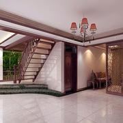 中式简约风格复式楼设计