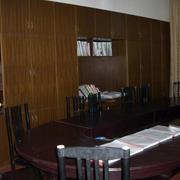 会议室整体木制书桌装修