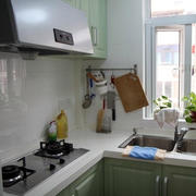 公寓韩式简约厨房效果图