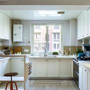 别墅混搭风格厨房吧台装饰