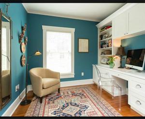 两室一厅书房装修