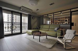 家装客厅皮制沙发设计