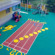 幼儿园游乐场橡胶设计