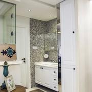 两室一厅简约风格洗漱池设计