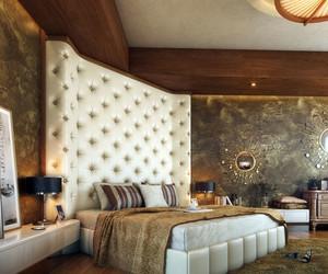 欧式卧室软包墙饰设计