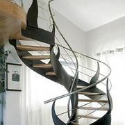 复式楼创意风格楼梯效果图