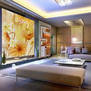 现代简约风格中国风背景墙设计