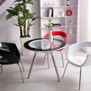 后现代风格玻璃圆桌设计