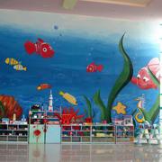 幼儿园大堂背景墙设计