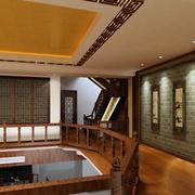 中式复式楼走廊装修