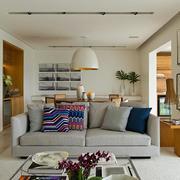 混搭风格公寓客厅沙发设计