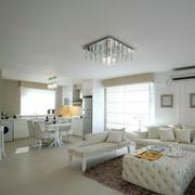 公寓简约风格客厅设计