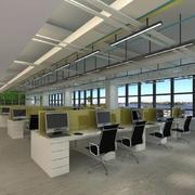 都市风格办公室吊顶设计