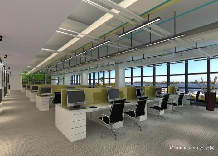 现代都市办公室装修效果图一览
