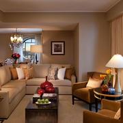 后现代风格客厅沙发装修