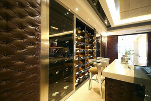 欧式酒窖吧台设计
