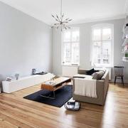 日式客厅地板装饰