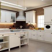 欧式白色简约厨房装饰