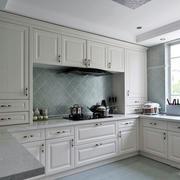 韩式整体式厨房橱柜设计