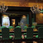 欧式西餐厅灯饰装饰