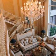 欧式田园风格楼梯设计