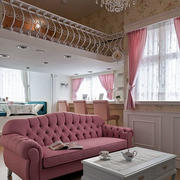 loft公寓欧式客厅设计