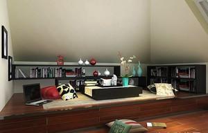 日式风格的书房装修效果图大全