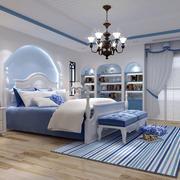 地中海风格卧室装饰