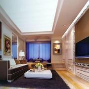 后现代风格客厅背景墙设计