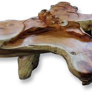 树木状根雕设计