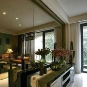 小户型客厅橱柜设计