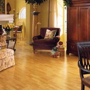 美式客厅木板设计
