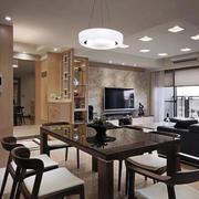 后现代风格家庭餐厅装饰