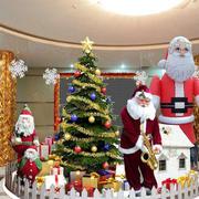 幼儿园圣诞大堂装饰