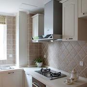 欧式厨房背景墙装饰