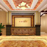 浴室前台背景墙设计